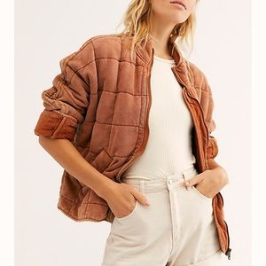 New free people Dolman quilted jacket